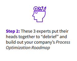 process optimization roadmap how it works - step 2